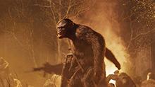《<B>猩</B><B>球</B><B>崛起</B><B>2</B>》片段:科巴带领猿族抢夺武器进攻人类