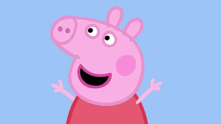 小猪佩奇第一季 英文版 第32集