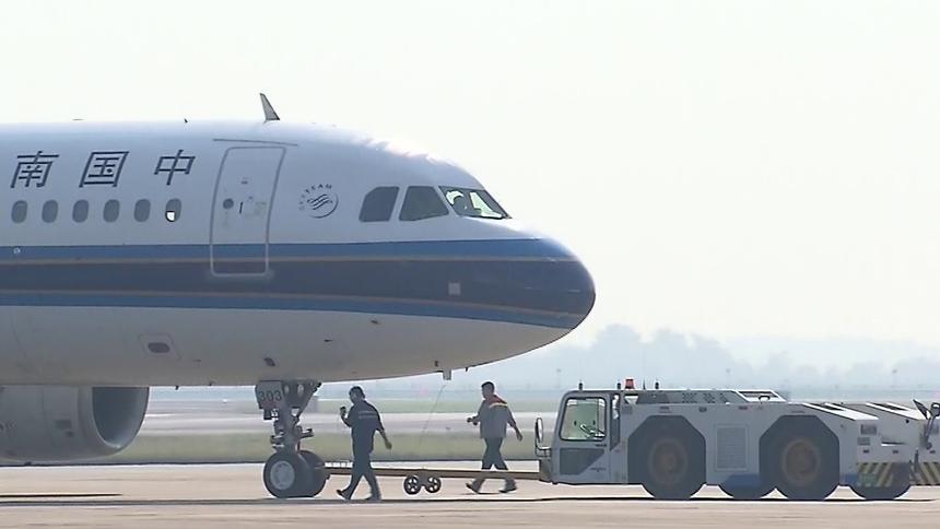 长沙黄花机场客流暂回落