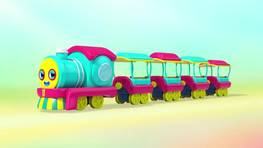 小火车游玩